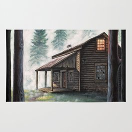 Cabin in the Pines Rug