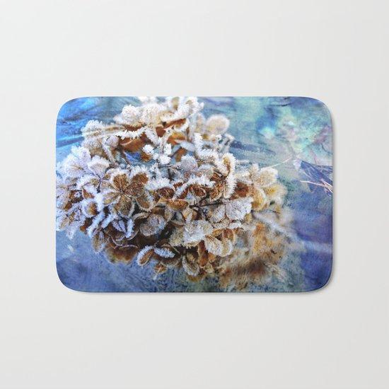 Frozen Poetry Bath Mat