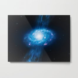 Young Galaxy Metal Print