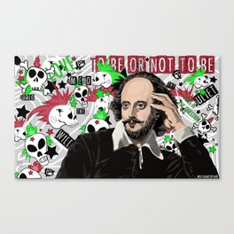 WILLSHAKESPEARE VECTOR Canvas Print