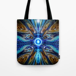 Cosmic Collage Tote Bag