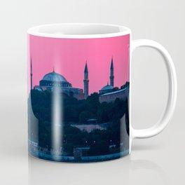 Istanbul Sultanahmed and Ayasofya Mosques Coffee Mug