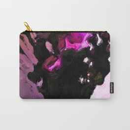 Flowers of Pink and Black 1 Carry-All Pouch