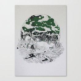 SILENT QUEEN Canvas Print