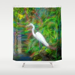 Crane Fantastique Shower Curtain