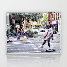 L.E.S. Kick Push Laptop & iPad Skin