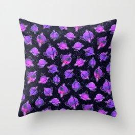Planetary Tortoise Throw Pillow
