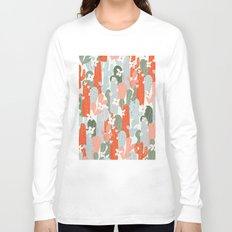 Floral Cactus Long Sleeve T-shirt