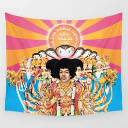 Jimi Hendrix - Axis Bold As Love Wall Tapestry