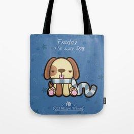 Freddy the Lazy Dog Tote Bag