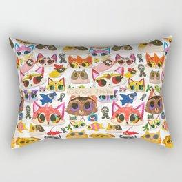 Los Dibujitos  Rectangular Pillow