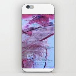 Desiderata 2 iPhone Skin