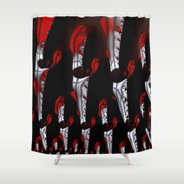 Snippets Shower Curtain