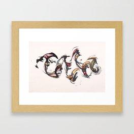 BCR#014 Framed Art Print