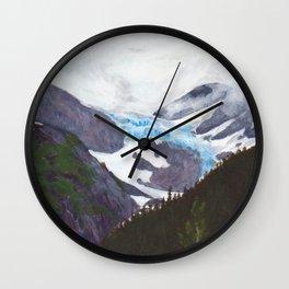 Portage Glacier Midsummer Wall Clock