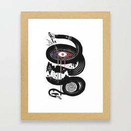 Intervolve Framed Art Print