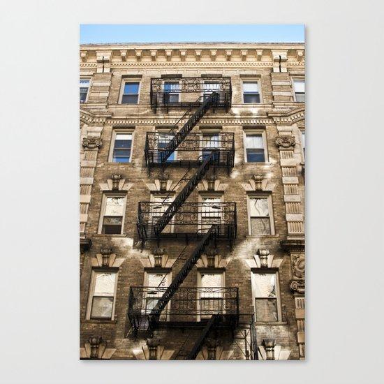 Alphabet City Canvas Print