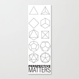 Perspective Matters Canvas Print