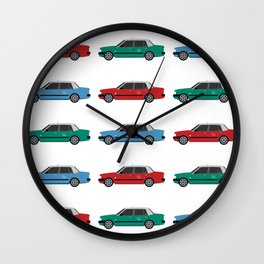 Hong Kong Taxi Wall Clock