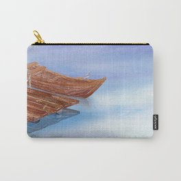 Perfect reflection of beautiful sky | Miharu Shirahata Carry-All Pouch
