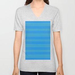 Simple Lines Pattern bt Unisex V-Neck