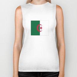 Flag of algeria -algerian,algiers,camus,chaabi,oran,constantine,Annaba. Biker Tank