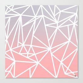Gradient Mosaic 1 Canvas Print