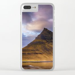 Church Mountain Iceland Clear iPhone Case