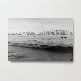 Landscape Toronto in black and white... Metal Print