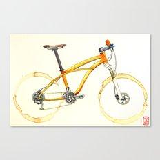 Coffee Wheels #08 Canvas Print