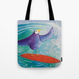 Surfs Up! Tote Bag