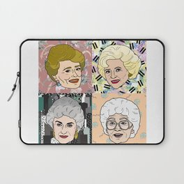 Friends are Golden Laptop Sleeve