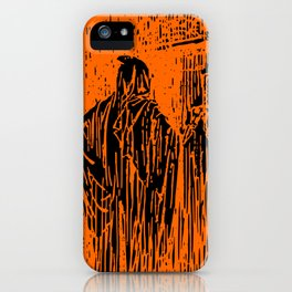 The Ghost at the Door iPhone Case