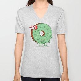 The Zombie Donut Unisex V-Neck