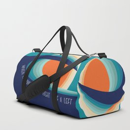 Surf a left Duffle Bag