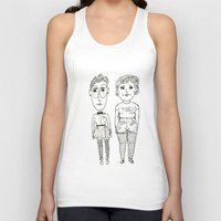 subway Tank Tops featuring Subway Friends by TheFrizzKid