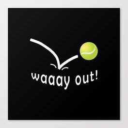 tennis Canvas Print