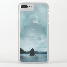 If I Had A Heart - Ragnar Lothbrok Clear iPhone Case