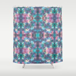 Frenchie frenzie Shower Curtain