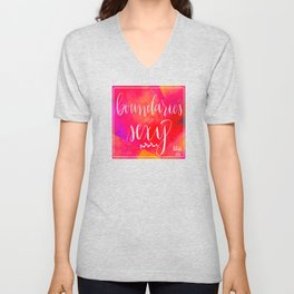 Boundaries are Sexy Unisex V-Neck