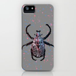 Colorful Beetle iPhone Case