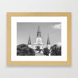 Didney Worl? B&W Framed Art Print