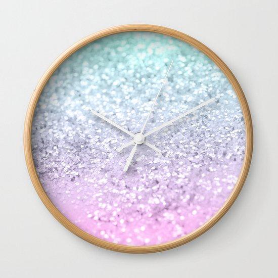 Mermaid Girls Glitter #2 (2019 Pastel Version) #shiny #decor #art #society6 by anitabellajantzart