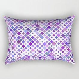 Purple Squared Rectangular Pillow