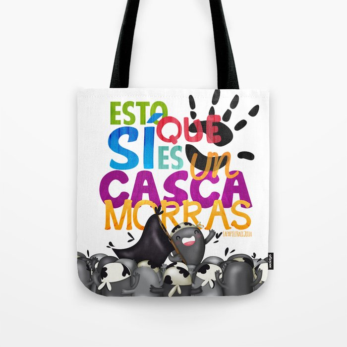Cascamorras Tote Bag