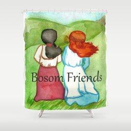 Bosom Friends Anne oF Green Gables Shower Curtain
