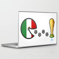 world cup Laptop & iPad Skins featuring Mexico World Cup 2014 by onejyoo
