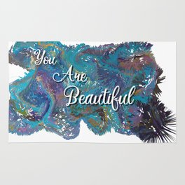 You are beautiful colorful design Rug