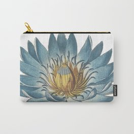 Blue Egyptian water lily Carry-All Pouch
