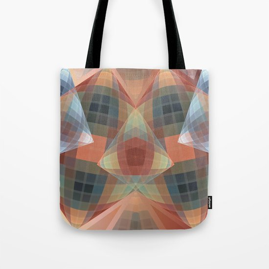 Diamonds and patterns, trendy geometric abstract Tote Bag